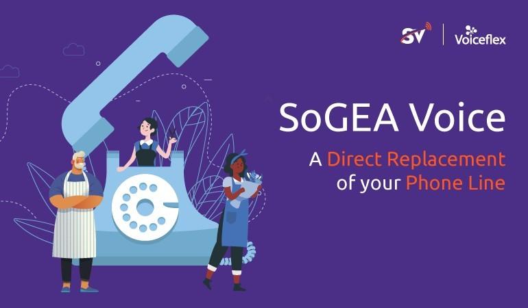 Voiceflex launches SoGEA Voice image