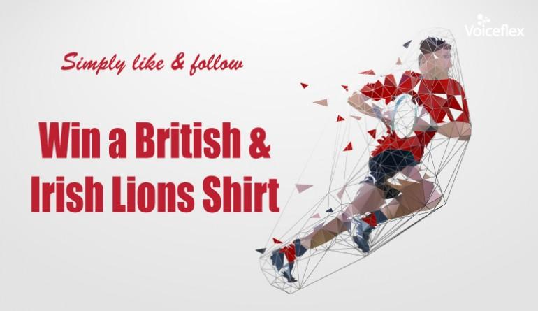 British & Irish Lions Shirt - Congratulations Matt Begg image