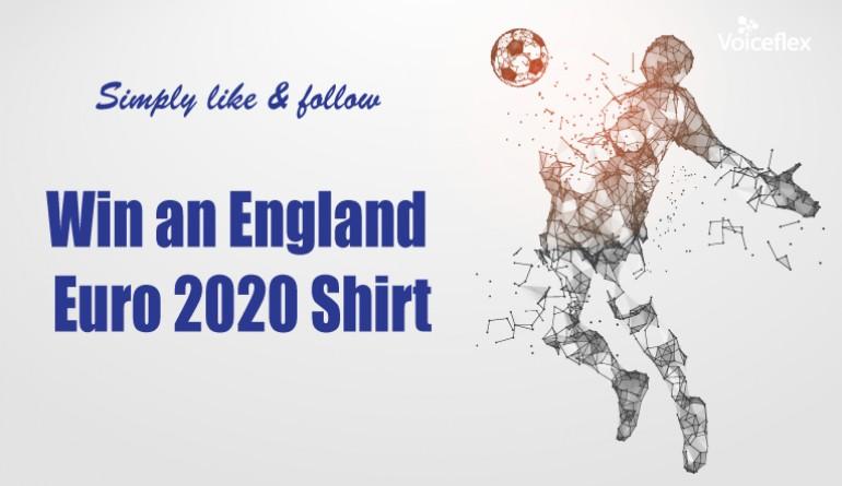 England Euro 2020 shirt - Winner Neal Howden image